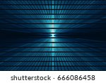 abstract science fiction... | Shutterstock . vector #666086458