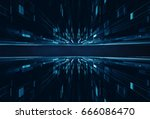 conceptual space or time travel ... | Shutterstock . vector #666086470