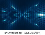 abstract science fiction... | Shutterstock . vector #666086494