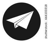aircraft  icon. vector... | Shutterstock .eps vector #666103318