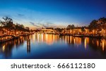 the most famous canals and... | Shutterstock . vector #666112180