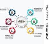 modern infographics vectors... | Shutterstock .eps vector #666113968