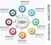 modern infographics vectors... | Shutterstock .eps vector #666114058