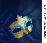 carnival mask | Shutterstock . vector #666118126