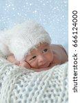 little newborn baby | Shutterstock . vector #666124000