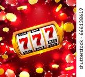 big win slots 777 banner casino ...   Shutterstock .eps vector #666138619