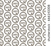 pattern background domain dot... | Shutterstock .eps vector #666143308