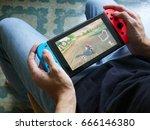 bangkok  thailand   june 25 ...   Shutterstock . vector #666146380
