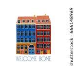 vector city poster of...   Shutterstock .eps vector #666148969