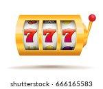 slot machine   Shutterstock .eps vector #666165583