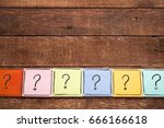 question mark concept   ...   Shutterstock . vector #666166618