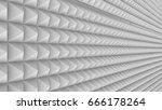 pyramid geometric pattern  3d... | Shutterstock . vector #666178264