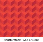 square seamless background | Shutterstock .eps vector #666178300