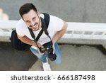 Portrait Of Male Photographer...