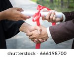 congratulation handshake
