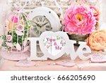 romantic love decoration in