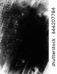 grunge black and white circle... | Shutterstock . vector #666207784