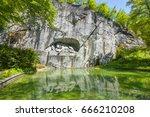 lucerne  switzerland   may 2017 ... | Shutterstock . vector #666210208