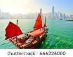 hong kong  china  december 31 ... | Shutterstock . vector #666226000