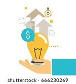 financial consulting  finance... | Shutterstock .eps vector #666230269