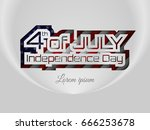 4th of july   american...   Shutterstock .eps vector #666253678