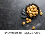 raw potato | Shutterstock . vector #666267298