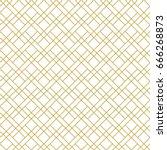 seamless vector pattern. modern ... | Shutterstock .eps vector #666268873
