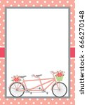 Vector Card Template With...
