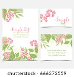 backgrounds with pink flowers | Shutterstock .eps vector #666273559