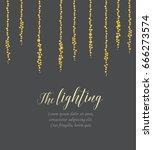 vector string lights   Shutterstock .eps vector #666273574