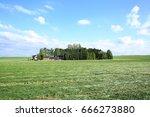 rural wallonia in belgium | Shutterstock . vector #666273880