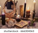 Fortune Telling Still Life Wit...