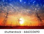 pylon | Shutterstock . vector #666310690
