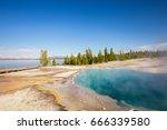 yellowstone national park....   Shutterstock . vector #666339580