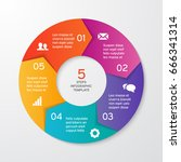 circle arrows for infographics. ...   Shutterstock .eps vector #666341314