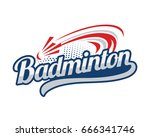 badminton vector art graphics