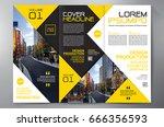 business brochure. flyer design....   Shutterstock .eps vector #666356593