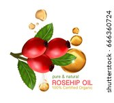 Rose Hip Oil Natural Cosmetic...