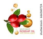 Rose Hip Oil Natural Cosmetic...