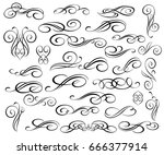 design elements.vector... | Shutterstock .eps vector #666377914