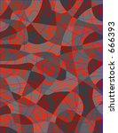 abstract modern texture | Shutterstock . vector #666393