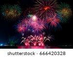 Beautiful Firework Display On...