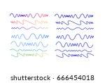 vector set of line elements ...