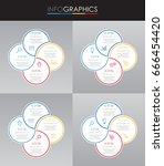 set of presentation business...   Shutterstock .eps vector #666454420