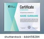 multipurpose modern... | Shutterstock .eps vector #666458284