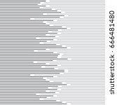 abstract minimal design stripe... | Shutterstock .eps vector #666481480