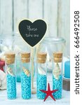 nautical style wedding favors | Shutterstock . vector #666492508