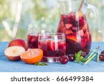 Refreshing Sangria Or Punch...