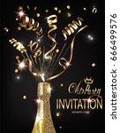 Vip Party Invitation Shiny...