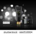 a beautiful cosmetic templates... | Shutterstock .eps vector #666510004